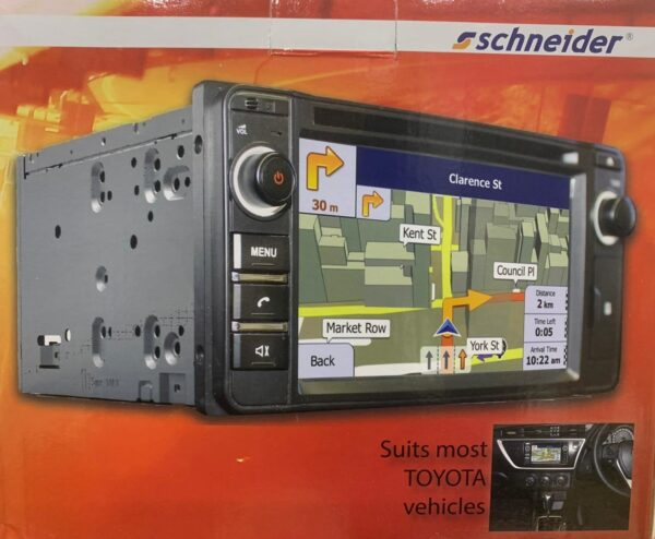 Schneider Toyota Fit CD Player & Bluetooth Unit (NO NAVIGATION) -