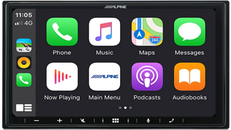 """Alpine HOLDEN VE COMMODORE PFK-VES1G3-W650E 7"""" Apple CarPlay / Android Auto / HDMI / USB / Bluetooth / FLAC / DAB+ Receiver with VE 7″ Dynamic Drive Assist Sports Display / HVAC Controller for VE Commodore Series-1 SS/SSV/SV6/Calais/Berlina/HSV -"""