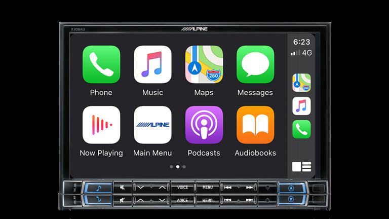 "Alpine FORD EVEREST EVEREST-X308AU 8"" Apple CarPlay / Android Auto / Primo 3.0 Navigation / HDMI / Bluetooth / DAB+ Receiver -"