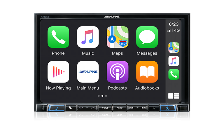"Alpine MITSUBISHI ASX-X308AU 8"" Apple CarPlay / Android Auto / Primo 3.0 Navigation / HDMI / Bluetooth / DAB+ Receiver -"
