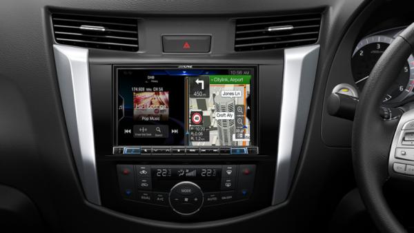 "Alpine NISSAN NAVARA-X308AUDXRX 8"" Apple CarPlay / Android Auto / Primo 3.0 Navigation / HDMI / Bluetooth / DAB+ Receiver -"