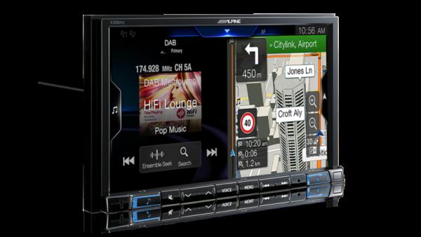 "Alpine SKODA SUPERB II VW-BKT-X308AU 8"" Apple CarPlay / Android Auto / Primo 3.0 Navigation / HDMI / Bluetooth / DAB+ Receiver -"
