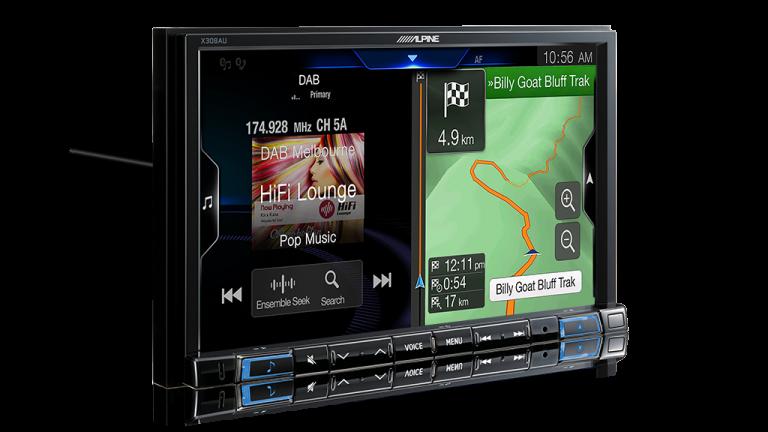 "Alpine AIRCROSS-X308AU 8"" Apple CarPlay / Android Auto / Primo 3.0 Navigation / HDMI / Bluetooth / DAB+ Receiver -"