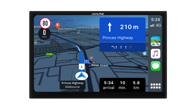 """Alpine FIAT DUCATO 3RD GENERATION i902D-DU 9"""" Infotainment Navigation System with Apple CarPlay and Android Auto suitable for Fiat Ducato -"""