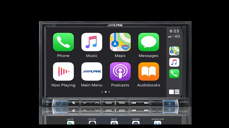 "Alpine NISSAN NAVARA-702DST 7"" Apple CarPlay / Android Auto / HDMI / USB / Bluetooth / FLAC / DAB+ Receiver -"