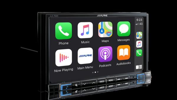 "Alpine FIAT DUCATO 3RD GENERATION DUCATO-702D 7"" Apple CarPlay / Android Auto / HDMI / USB / Bluetooth / FLAC / DAB+ Receiver -"