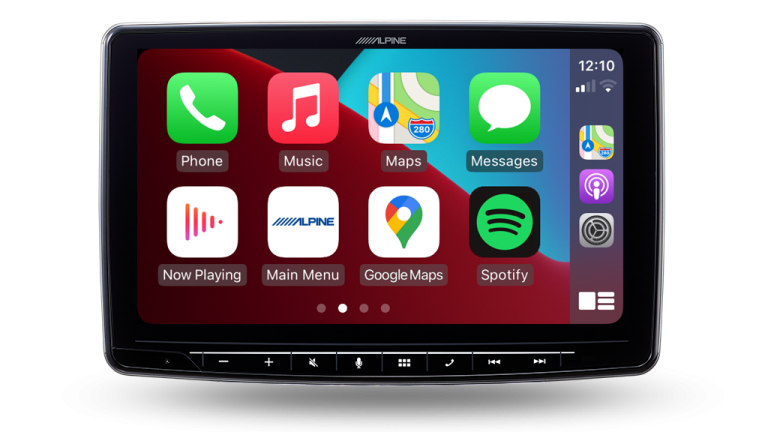 """Alpine HOLDEN VE COMMODORE LUXURY PFK-VES2G1S-F309 Halo9 9"""" Apple CarPlay / Android Auto / HDMI / USB / Bluetooth / FLAC / DAB+ Receiver with VE 7″ Dynamic Drive Assist Sports Display / HVAC Controller for VE Commodore Series-2 HSV -"""