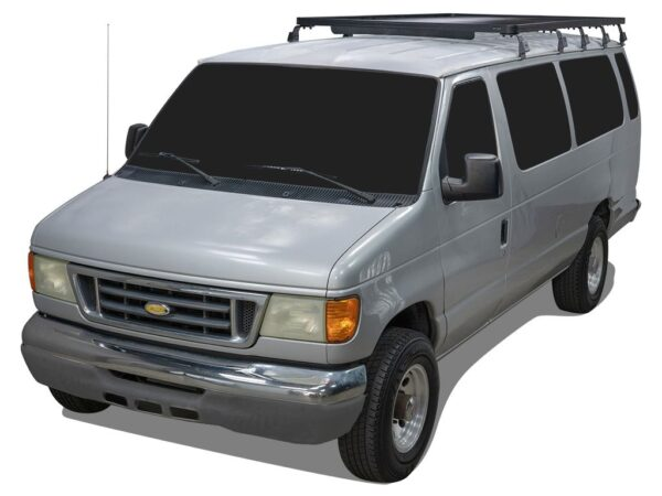 FRONT RUNNER FORD E150/E250/E350 EXTENDED CAB (1992-2014) SLIMLINE II 3/4 ROOF RACK KIT -